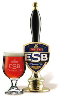 My favorite ESB (it's pretty high up there on my favorite overall beer list too)