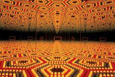 Yayoi Kusama, Infinity Mirrored Room – Love Forever, 1996