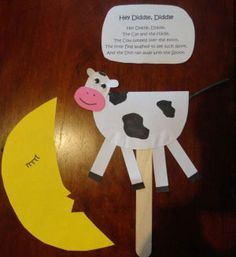 Hey Diddle, Diddle Nursery Rhyme Craft
