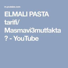 ELMALI PASTA tarifi/ Masmavi3mutfakta▪ - YouTube