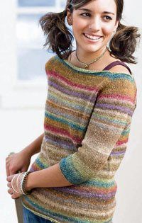 Easy Seamless Knitting - Knitting Daily - Blogs - Knitting Daily - I just bought this pattern and may try some of the mods here.