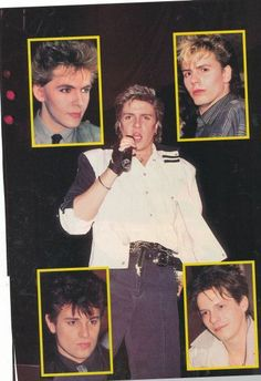Duran Duran - I remember this magazine poster!