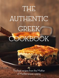 The Authentic Greek Cookbook This Luxury  Page Enlgish Language Coffee