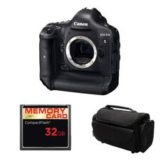 Canon EOS 1D X Digital SLR Camera Body 32GB Bundle - Overstock™ Shopping - Top Rated Canon Digital SLR