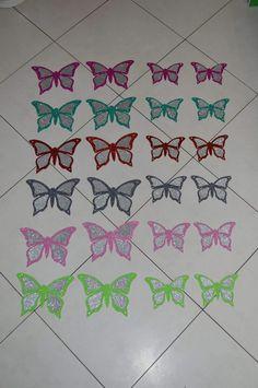 Farfalle glitter