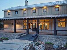 Barn style home.