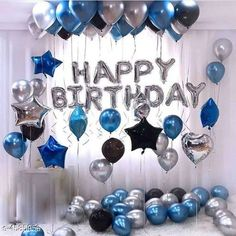 Checkout this latest Gift combos_0-500 Product Name: *Beautiful Unique Balloon* Material: Latex Size: Foil Balloons - 10 feet Star Foil - 10 in Balloons - 12 in Description: It Has 1 Set Of  Happy Birthday Silver Foil Balloon + 3 Star 30 Metallic Balloons (Black Blue Silver) Country of Origin: India Easy Returns Available In Case Of Any Issue   Catalog Rating: ★4.1 (818)  Catalog Name: Essential Beautiful Unique Balloon Vol 3 CatalogID_664426 C128-SC1604 Code: 343-4585956-318