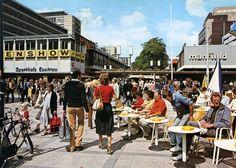 Lijnbaan rond 1980