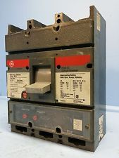 GE General Electric TJL4V2604 400 Amp Circuit Breaker 400A Trip 600V T4VT CI dmg. See more pictures details at http://ift.tt/1JoBInZ