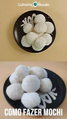 Arroz para moti (ou outro arroz glutinoso), açúcar e água Mochi, Pasta, Asian Recipes, Cake Receipe, Other, Cakes, Recipes, Glutinous Rice, 3 Ingredients
