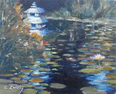 """Night Reflections"" by Catherine Zakutney"