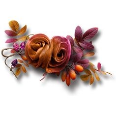 3.png ❤ liked on Polyvore featuring flowers, embellishment and fall
