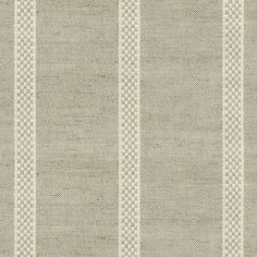 Hopsack Stripe Natural by Ian Mankin - Made to Measure Curtains - FA023-030 Curtains For Sale, Lined Curtains, Curtain Fabric, Natural Curtains, Curtain Drops, Curtain Styles, Fabric Tote Bags, Made To Measure Curtains, Striped Fabrics