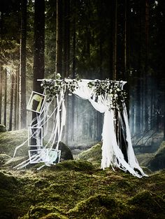 Maak met leuke DIY accessoires een geweldig huwelijksfeest | IKEA IKEAnl IKEAnederland feest party bruiloft huwelijk bos bomen boom groen duurzaam decoratie accessoires inspiratie wooninspiratie diy creatief interieur wooninterieur buiten outdoor balkon zomer lente wissellijsten schilderijlijsten