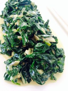 Jalapeño Creamed Spinach - LEFT SIDE OF THE TABLE