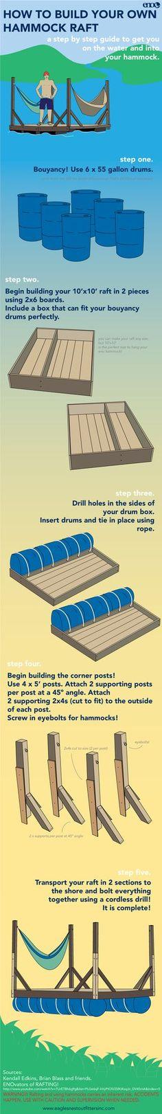 How to Build a Hammock Raft! Inspired By Kendall Edkins, Brian Blass + co. http://www.youtube.com/watch?v=7UrETBh6g9g=PLGe6qF-lrVyPtOiV2SlKiKsqJn_DV45mA=5
