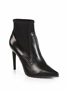 Perfect- 4 1/2 heel The best shoes of Fall 2013 - #Tibi Vera Leather Ankle Boots