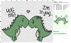 Schema punto croce 2 dinosauri innamorati 100x80 6 colori.jpg