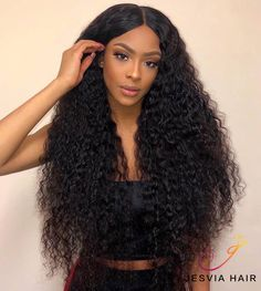 Uhair Indian Virgin Hair Kinky Curly 4 Bundles With Lace Closure Unprocessed Human Hair Lace Front Wigs, Lace Wigs, Hot Beauty Hair, Curly Hair Styles, Natural Hair Styles, Rock Hairstyles, Kinky Curly Wigs, 100 Human Hair Wigs, Brazilian Hair