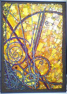 FINE ART ABSTRACT MOSAICS, CONTEMPORARY MOSAIC ART