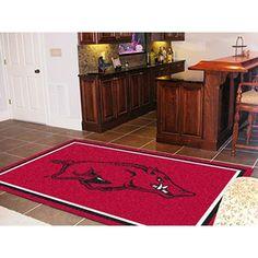 Arkansas Razorbacks NCAA Floor Rug (5x8')