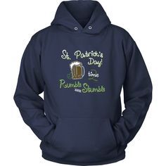 St. Patrick's Day, Time 2 Rumble and Stumble - Unisex Hoodie