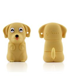 Love this Yellow Dog 8 GB USB Drive & Changeable Cover by Bone on #zulily! #zulilyfinds