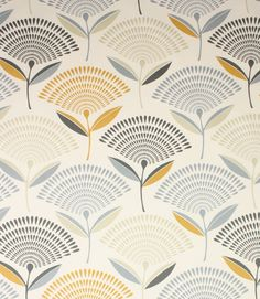 Dandelion fabric is a striking contemporary fabric with an unusual modern…