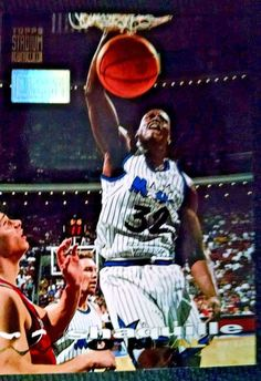 0b9dc0e4b8e 1993 94 Stadium Club First Day Issue 100 Shaquille O 039 Neal Team Orlando  Magic. Morgan Hill Sports Cards