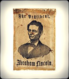During the presidential campaign of 1860, Abraham Lincoln courted the support of German-Americans, who numbered over a million by that time. They opposed slavery, and many were spurred on by the revolution-minded Forty-Eighters, who galvanized support in German communities for the Republican Party.