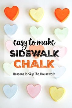 Your kids will learn a little bit of Science and let their artistic side shine with this fun DIY summer activity making your own Sidewalk Chalk.
