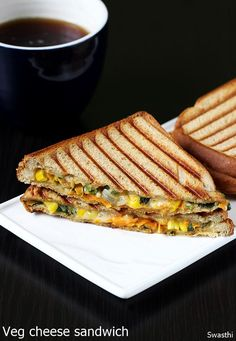 Veg cheese sandwich recipe – Simple and quick vegetable cheese sandwich recipe to make under 15 mins. This recipe doesn't need cooking, sauteing or blanching veggies and they are used raw. Making it in a sandwich maker simplifies the task if you are making for a large family. However it can be made on a …
