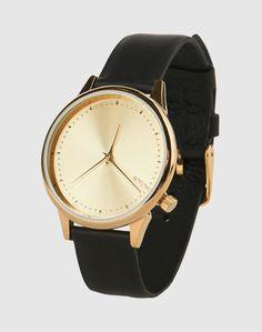 Einen absoluten Blickfang bringt Komono mit Estelle Classic auf den Markt. Die Armbanduhr besteht aus weichem Leder und besitzt ein goldglänzendes Ziffernblatt und lässt damit die Herzen der Fashion Victims höher schlagen.