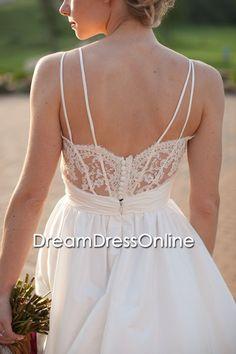 2014 new fashion vneck wedding dress / vneck lace dress / lace wedding party dress / lace bride dress / vneck lace dress