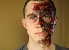 How to Create Easy(ish) and Realistic Burn Makeup