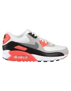 ba89ea354989 Buy Air Max 90 OG Shoes - Infrared White by Nike from our Footwear range -  Whites -   fatbuddhastore