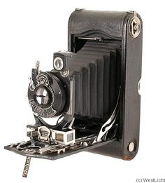 Kodak Eastman Autographic Special No.3A Model B camera (1916) - the first rangefinder camera to be marketed