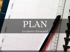 Plan to move forward