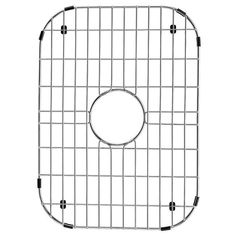 "Vigo VGG1318 Kitchen Sink Bottom Grid 18"" x 13"" Chrome Accessory Basin Rack"