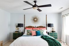 Space Saving Bedroom Design Ideas - Small Bedroom Ideas home decor apartment therapy Space Saving Bedroom, One Bedroom, Bedroom Decor, Bedroom Ideas, Bedroom Inspo, Nice Bedrooms, Summer Bedroom, Bedroom Styles, Master Bedrooms
