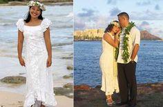 Elegant Dresses | Hawaiian, Wedding dress and Weddings