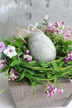 Beautiful carved egg