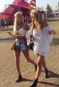 Festival Daisies <3 <3 Eyeshadow style snaps Coachella 2013