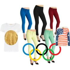 """""""Olympic Winners"""" by dl1961jeans on Polyvore"""