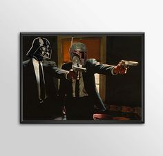 Star Wars Art - Alternative Universe 7 - Pulp Wars by ShamanAlternative on Etsy
