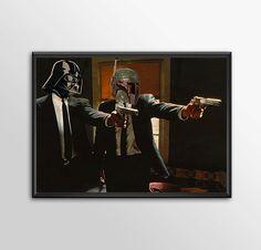 Star Wars Art - Alternative Universe 7 - Pulp Wars by ShamanAlternative on Etsy
