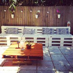 15 DIY Pallet Furniture for Outdoors | 99 Pallets