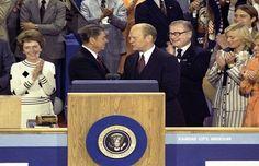 Cuando Gerald Ford propuso copresidir los Estados Unidos junto a Ronald Reagan - Cuaderno de Historias