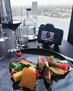 Shooting time with @gaelle_vp @ La Villa In The Sky   #villalorraine #villainthesky #alexandredionisio #food
