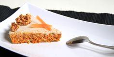 Torta di carote con glassa di limone e vaniglia. Veramente deliziosa.